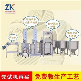 江苏扬州小型全自动千张机 ZK-100千张机气压控制器 豆制品千张机多用型
