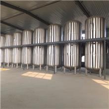 曲阜生产酒罐的厂家加工定制酒厂酿酒设备 储存罐 发酵罐 运输罐 5-100吨大型酒罐报价