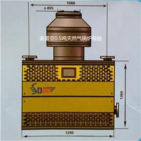 浴池取暖洗浴多用环保燃气锅炉可用天然气液化气燃气锅炉