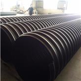 腾达厂家直销大口径钢带管 HDPE钢带增强螺旋波纹管 排污钢带缠绕管