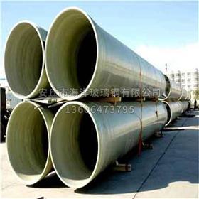 玻璃纤维方管 玻璃钢夹砂缠绕管道 玻璃钢排水管 高强耐高温