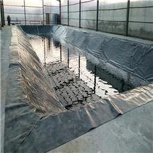 鱼塘专用膜黑色塑料薄膜养殖膜鱼池防渗膜防水膜藕池防渗膜土工膜