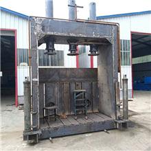达观立式液压打包机厂家 大型废金属压块打包机 废塑料废不锈钢捆包机