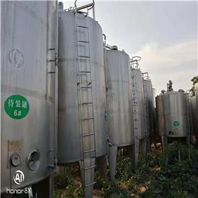 低价供应二手不锈钢储罐  二手304材质不锈钢储罐 10-50立方不锈钢储罐