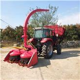 畜牧养殖用青饲料收获机割台 大型全自动干湿两用玉米秸秆青储机 青贮机厂家