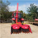 山东厂家供应悬挂式圆盘割台玉米秸秆青储机 秸秆粉碎收获机械 青贮机