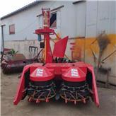 自走式牧草秸秆青储机 青储机割台 大型玉米秸秆收获机价格