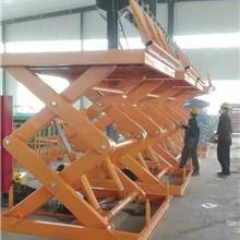 盛荣固定剪叉式升降平台 电动液压固定式升降台 大吨位升降货梯