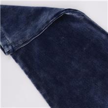 常州厂家供应5317A靛蓝灯芯绒 纺织皮革棉类面料 牛仔裤平绒面料