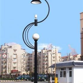 户外亮化工程庭院灯 现代单头防水庭院灯