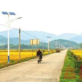 太阳能路灯 5米6米高杆灯庭院灯 户外灯景观灯 新农村led路灯杆超亮路灯