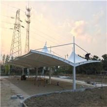 厦门工厂膜结构、泉州充气膜结构、厂房屋顶膜结构车棚