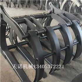 挖掘机多功能铁路枕木机,济宁天诺机械生产。