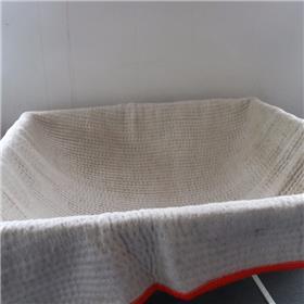 厂家批发 4800g覆膜防水毯 废渣填埋专用防水毯天然纳基膨润土防水毯