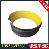 钢带波纹管hdpe大口径排污波纹聚乙烯螺旋钢带管螺纹增强管DN500mm环刚度SN10