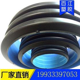 北京高密度聚乙烯hdpe双壁波纹管黑色8KN大口径塑料排污地埋双壁波纹管