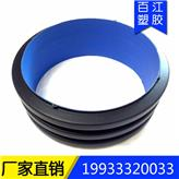 优质国标聚乙烯hdpe碳素螺旋波纹管黑色pe单壁波纹管hdpe塑料弱电