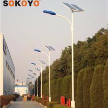 供應江蘇8m雙頭太陽能路燈 鄉鎮建設led太陽能燈 太陽能路燈價格表