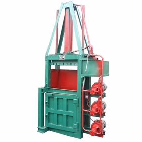 生活垃圾压缩打块机 30吨立式液压打包机 厂家直销立式液压捆扎