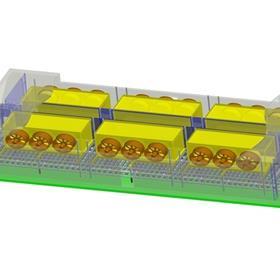 网带速冻机 快速冻结 低成本高品质的冻结方式DJL-IQF1612E