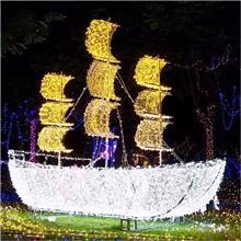 户外灯光节LED造型灯灯光秀设计制作厂家 现货供应民俗花灯灯光展