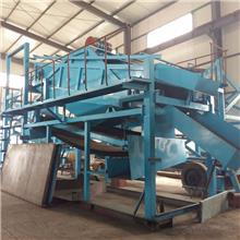 河道移动式鼓动溜槽砂金设备 鼓动溜槽砂金机械