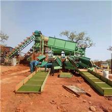 青州淘金挖沙设备  山东旱地淘金设备