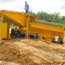 人工淘金设备图片 潍坊淘金挖沙设备