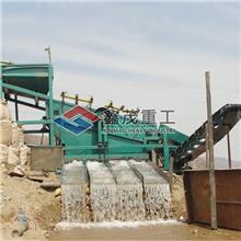 供应砂石分离设备  直线振动筛 矿山固定淘金设备