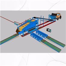 固定溜槽淘金机械 旱地移动式鼓动溜槽选金机器