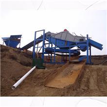 选金溜槽淘金机械 河道移动式固定溜槽选金机器