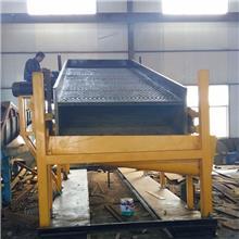 河道大型选金溜槽砂金设备 大型选金溜槽砂金机械