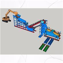 旱地移动式离心机砂金设备 离心机砂金机械