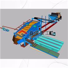 振动筛淘金设备 鼓动溜槽沙金淘金设备 固定淘金设备