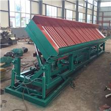 固定溜槽淘金机器 旱地大型固定溜槽淘金设备