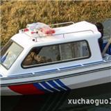 8座半棚快艇 高速艇 600玻璃钢全棚快艇 汽艇 厂家直销