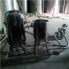 硅藻土过滤机白酒过滤果酒药酒过滤机杂质浑浊油脂过滤器 天津海铨净化直销