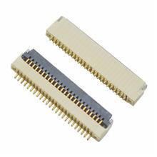 重庆厂家现货fpc/ffc连接器0.5间距H1.0翻盖式4-40p免费试用