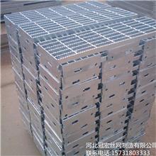 熱銷產品_安平鋼格板 專業生產加工踏步平臺鋼格板