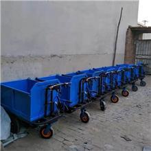 大功率跑的遠更耐用工地電動手推三輪車 養殖拉糞電動手推三輪車 拉混凝土電動手推三輪車