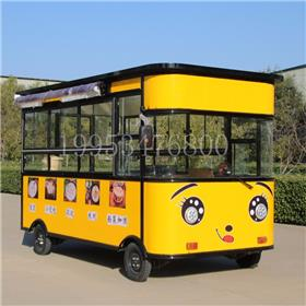 厂家直销极致商贸快餐车 流动饮车 电动四轮餐车 保温电动餐车