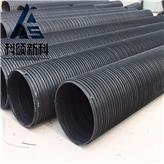 郑州塑钢缠绕管科硕建材专注市政用HDPE塑钢缠绕管 聚乙烯塑钢缠绕管库存足型号全