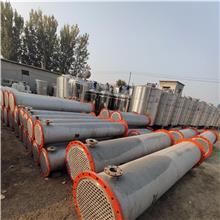 出售現貨二手蒸發式冷凝器 回收二手搪瓷片式冷凝器 二手石墨冷凝器