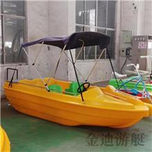 聚乙烯電動船 3-4人電動船水上運動器材 聚乙烯觀光游船釣魚船