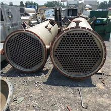 山東蒸發器銷售  專營二手30平方石墨冷凝器 9成新優質不銹鋼列管冷凝器價格