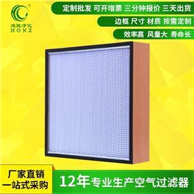 板框式高效过滤器 耐高温高效过滤器 高效过滤器