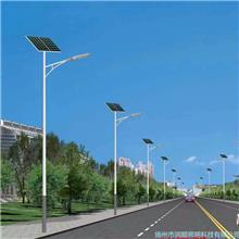 潤順照明|新農村太陽能路燈|鋰電池5米6米戶外燈超亮高桿燈|庭院燈|led路燈桿