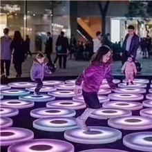 2019电容感应人体感应其他电子产品户外用地砖led地砖灯彩色跑