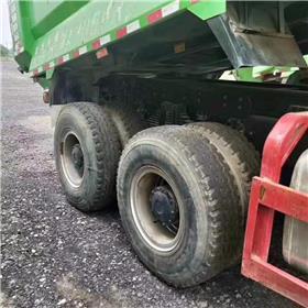 销售二手福田欧曼自卸车5.8米大箱高1.5 豪沃工程后八轮泥头车交易市场