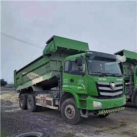 批发出售17年欧曼二手自卸车工程货车支持分期5米8自卸货车全手续